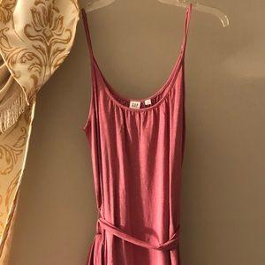 Fun summer pink dress